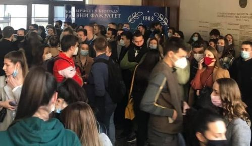 Protest studenata Pravnog fakulteta (VIDEO) 4