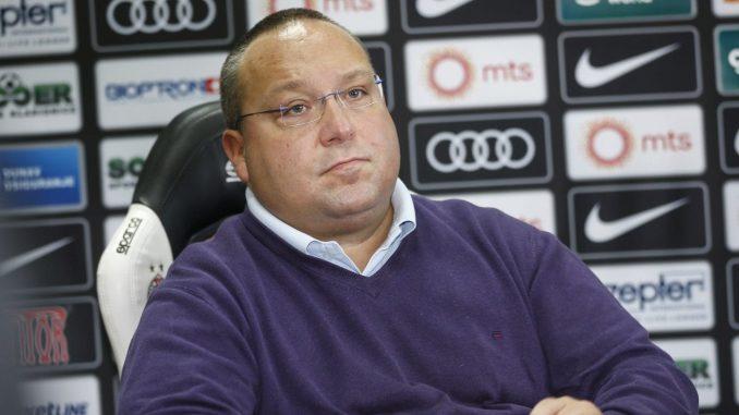Vuletić podneo ostavku na mesto potpredsednika FK Partizan 2