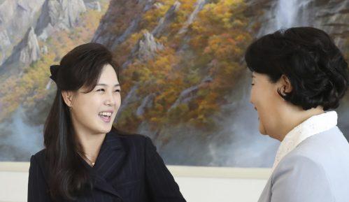 Kimova žena u javnosti posle dužeg vremena 2