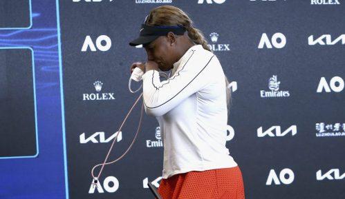 Serena Vilijams se rasplakala na konferenciji za novinare 4
