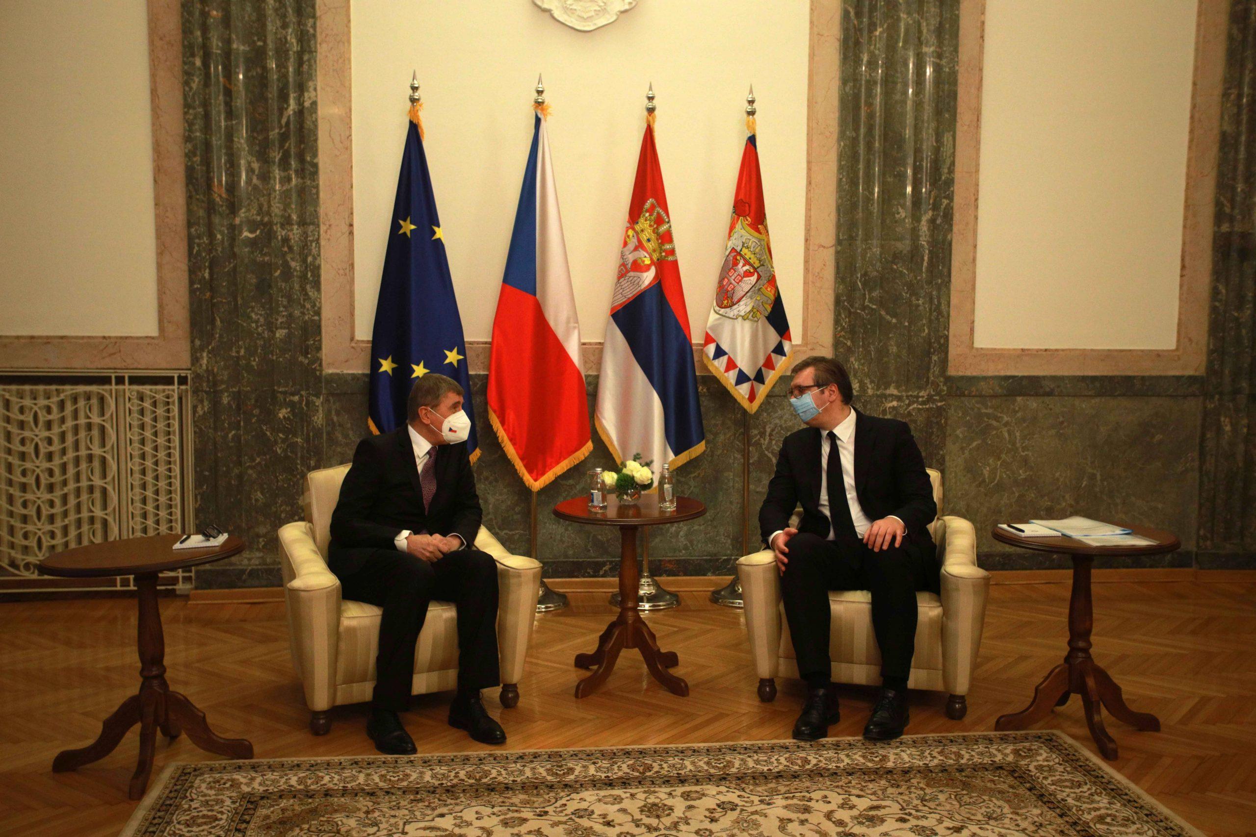 Vučić: Ne mešam se u češko-ruski diplomatski rat 1