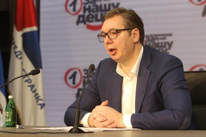 Sednica Predsedništva SNS: Na dnevnom redu i stranački izbori 1