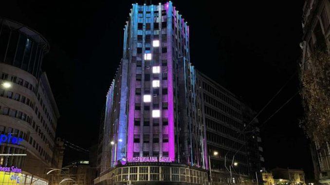 Beograd u bojama koje simbolišu Međunarodni dan obolelih od retkih bolesti 1
