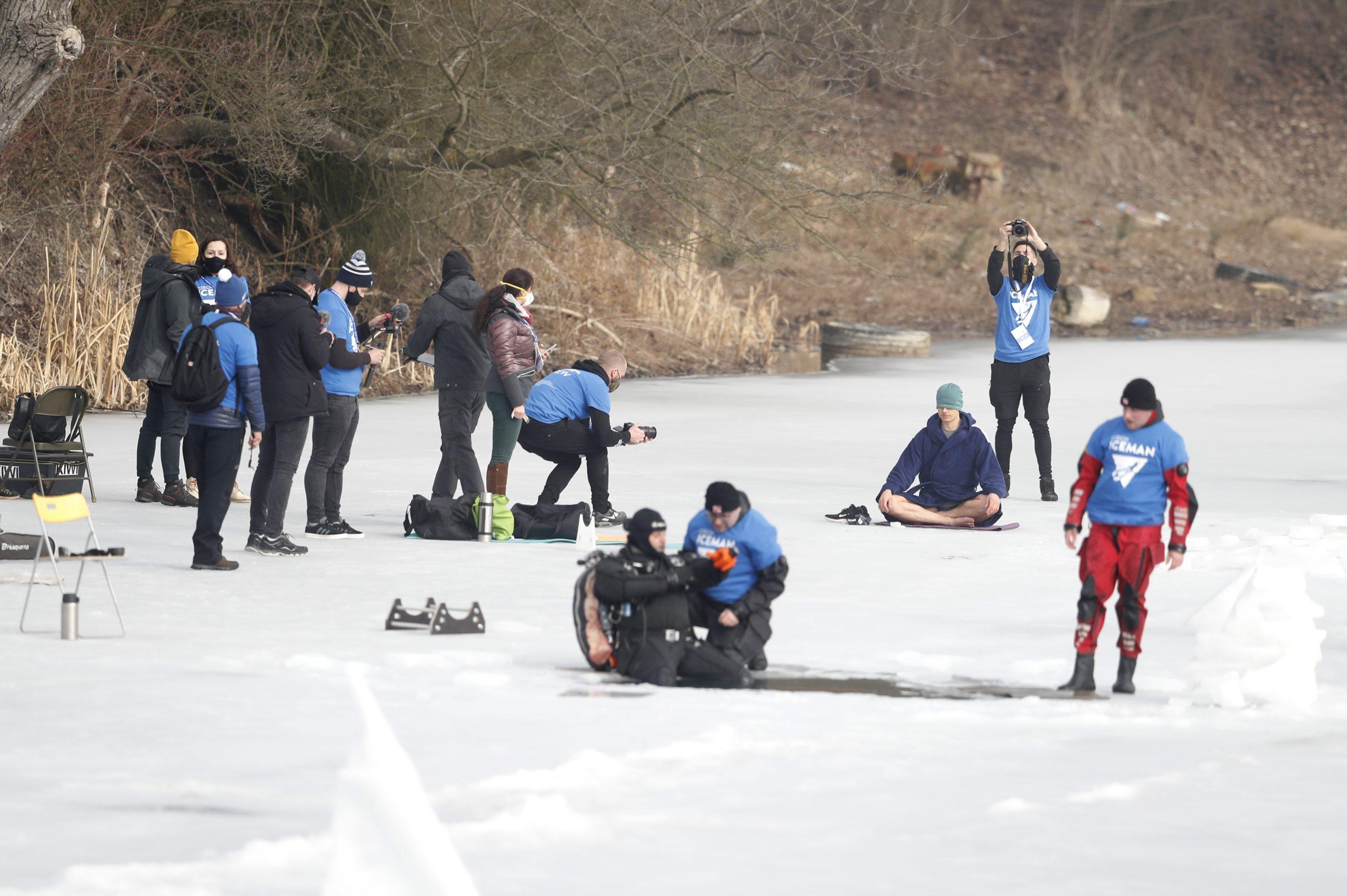 Čeh postavio svetski rekord u ronjenju pod ledom na dah 2