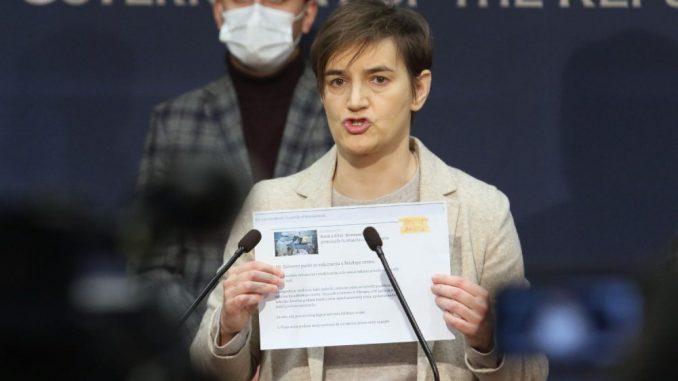 Premijerka optužila N1 da svesno ugrožava proces vakcinacije u Srbiji 5