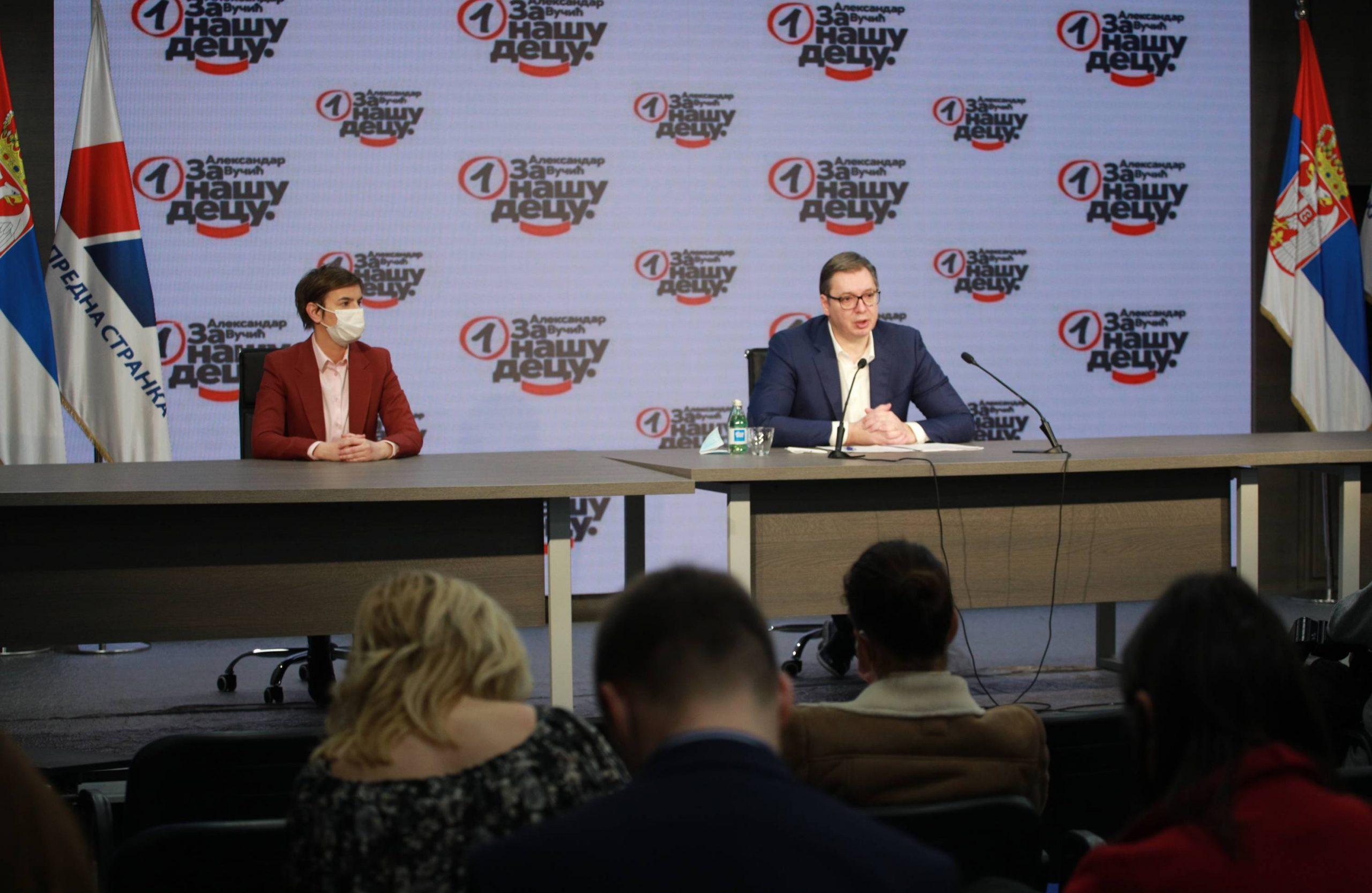 Vučić: Molim da budem među prvih deset za ispitivanje porekla imovine 4