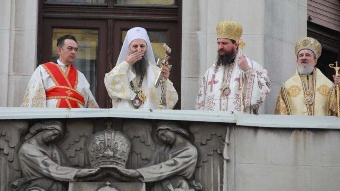 Ustoličen patrijarh Porfirije (FOTO) 1