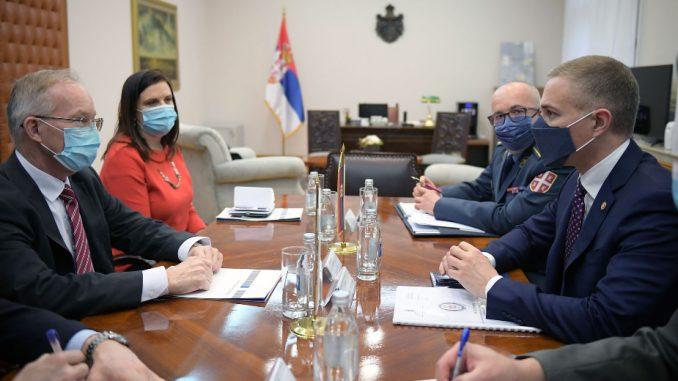 Bratu i Stefanović: Dobra saradnja sa OEBS-om 4