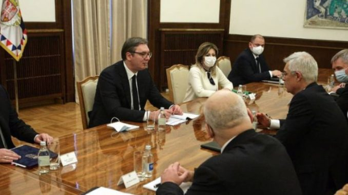 Vučić zahvalio Slovačkoj na principijelnom stavu da poštuje teritorijalni integritet i suverenitet Srbije 1
