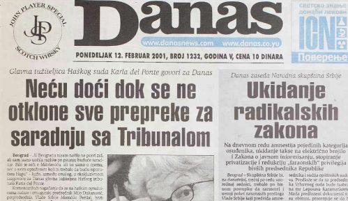 """Kako je 2001. ukinut """"radikalski"""" Zakon o javnom informisanju 9"""