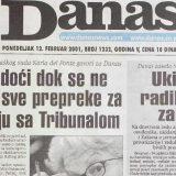 """Kako je 2001. ukinut """"radikalski"""" Zakon o javnom informisanju 1"""