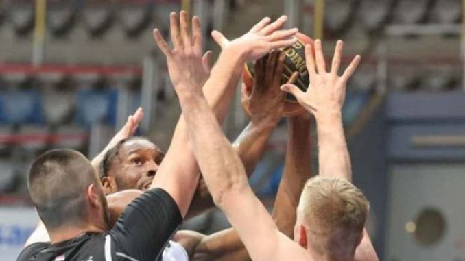 Košarkaši Partizana posle produžetka izgubili od Zadra u ABA ligi 3