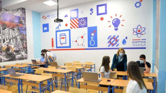 Uz podršku NIS-a otvoren kabinet za ruski jezik u Šabačkoj gimnaziji 4
