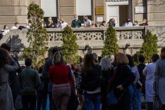 Protest studenata: Studentska poliklinika mora postojati (VIDEO) 4