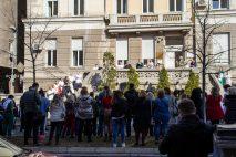 Protest studenata: Studentska poliklinika mora postojati (VIDEO) 13