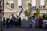 Protest studenata: Studentska poliklinika mora postojati (VIDEO) 7