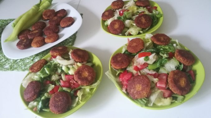 Vege recept: Falafel i humus 16