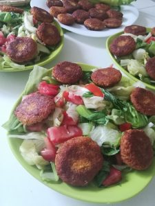 Vege recept: Falafel i humus 2
