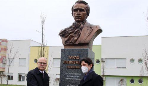 Spomenik Tarasu Ševčenku otkriven u Novom Sadu 15