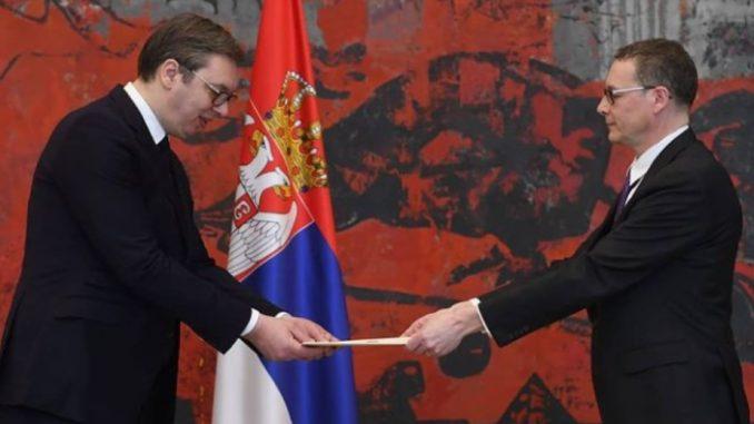 Vučić primio akreditivna pisma novih ambasadora Kanade i Rumunije 5