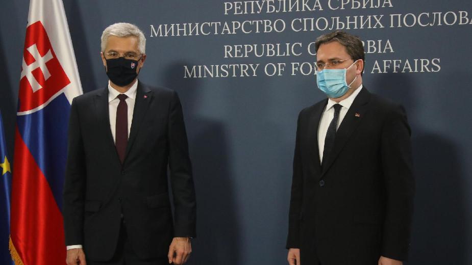Korčok: Slovačka očekuje napredak Srbije u vladavini prava i dijalogu sa Prištinom 1