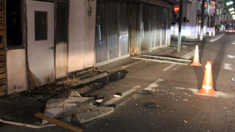 Snažan zemljotres u Japanu 1