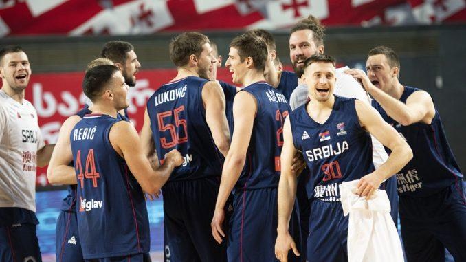 Košarkaši Srbije pobedom nad Švajcarskom završili kvalifikacije za EP 3