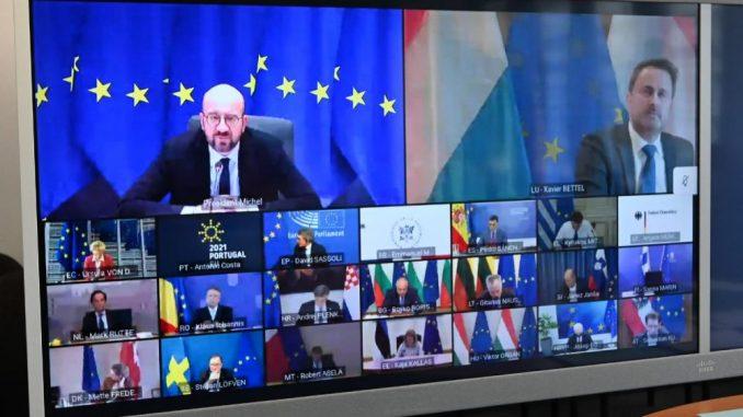 Lideri EU se založili za stroga ograničenja zbog novih sojeva korona virusa 5