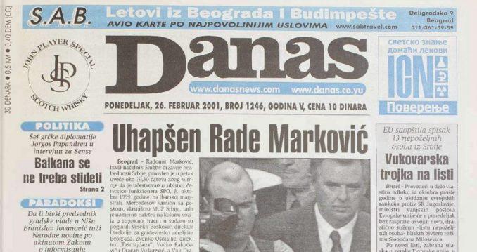 """Nedelja kada su uhapšeni Rade Marković i """"Gazda Jezda"""" 3"""