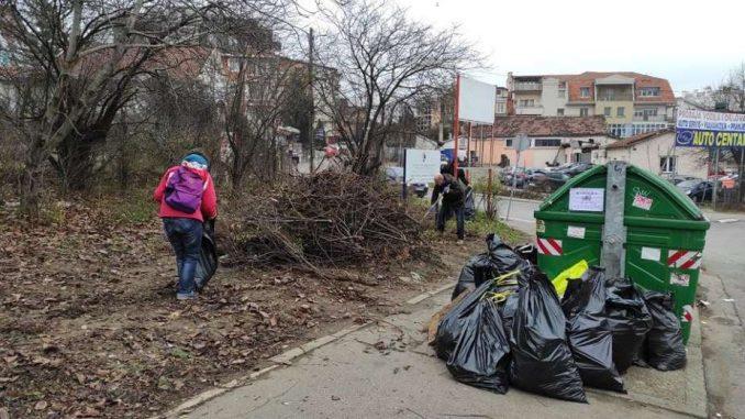 Ne davimo Beograd: Čišćenje okretnice autobusa 26 ponovo 20. februara 4