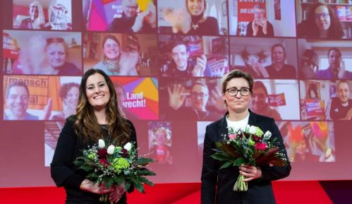 Dve političarke izabrane da vode nemačku stranku Levice 1