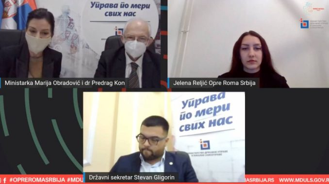 Obradović: Ministarstvo državne uprave i lokalne samouprave će pomoći Romima da se vakcinišu 1