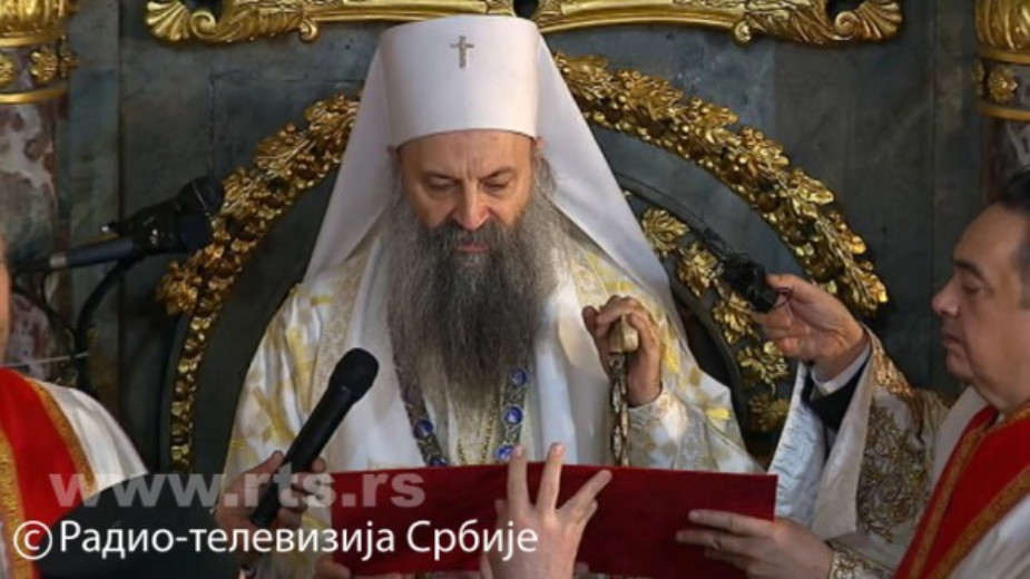 Ustoličen patrijarh Porfirije (FOTO) 3