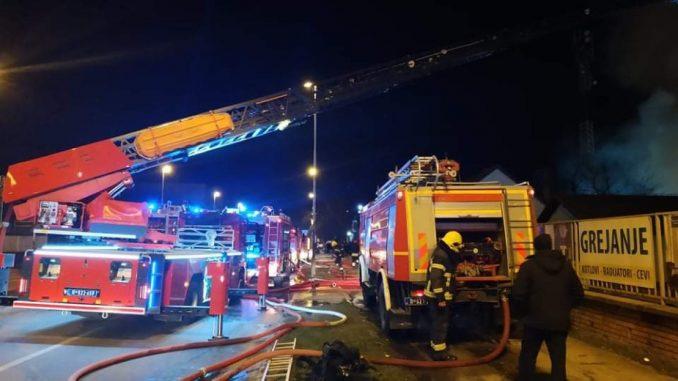 Požar u Novom Sadu, nema povređenih 3