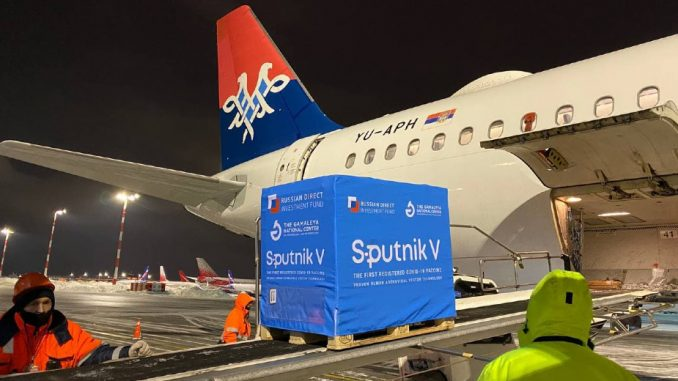 U Srbiju večeras stiže 100.000 vakcina Sputnjik V 1