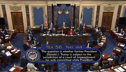 Senat SAD izglasao da je suđenje o opozivu Trampu u skladu sa Ustavom 14