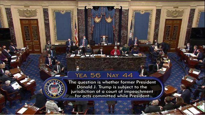 Senat SAD izglasao da je suđenje o opozivu Trampu u skladu sa Ustavom 4