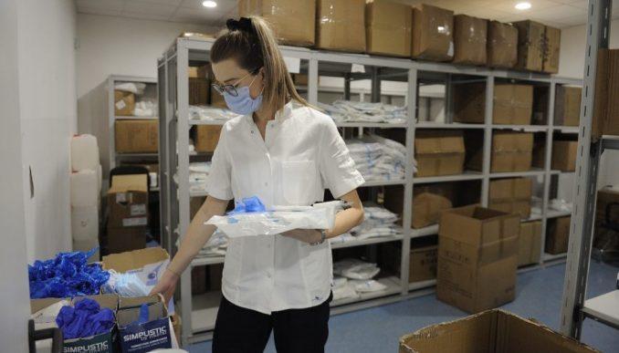 UNICEF isporučio zaštitnu opremu za kovid bolnicu u Batajnici i Kliničkom centru Srbije 3