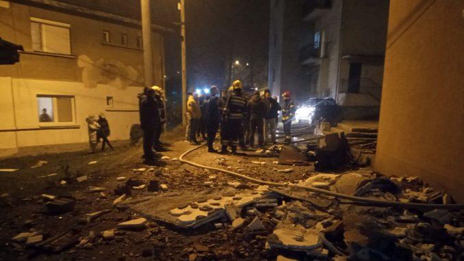 Predistražni postupak zbog eksplozije gasa u zgradi u Užicu 1