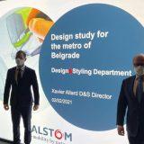 "Partneri iz ""Alstoma"" predstavili dizajn vagona za beogradski metro, bilo reči i o kreditiranju 11"