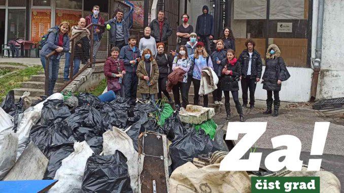 Ne davimo Beograd očistio zelene površine na Voždovcu i Čukaričkoj padini 3