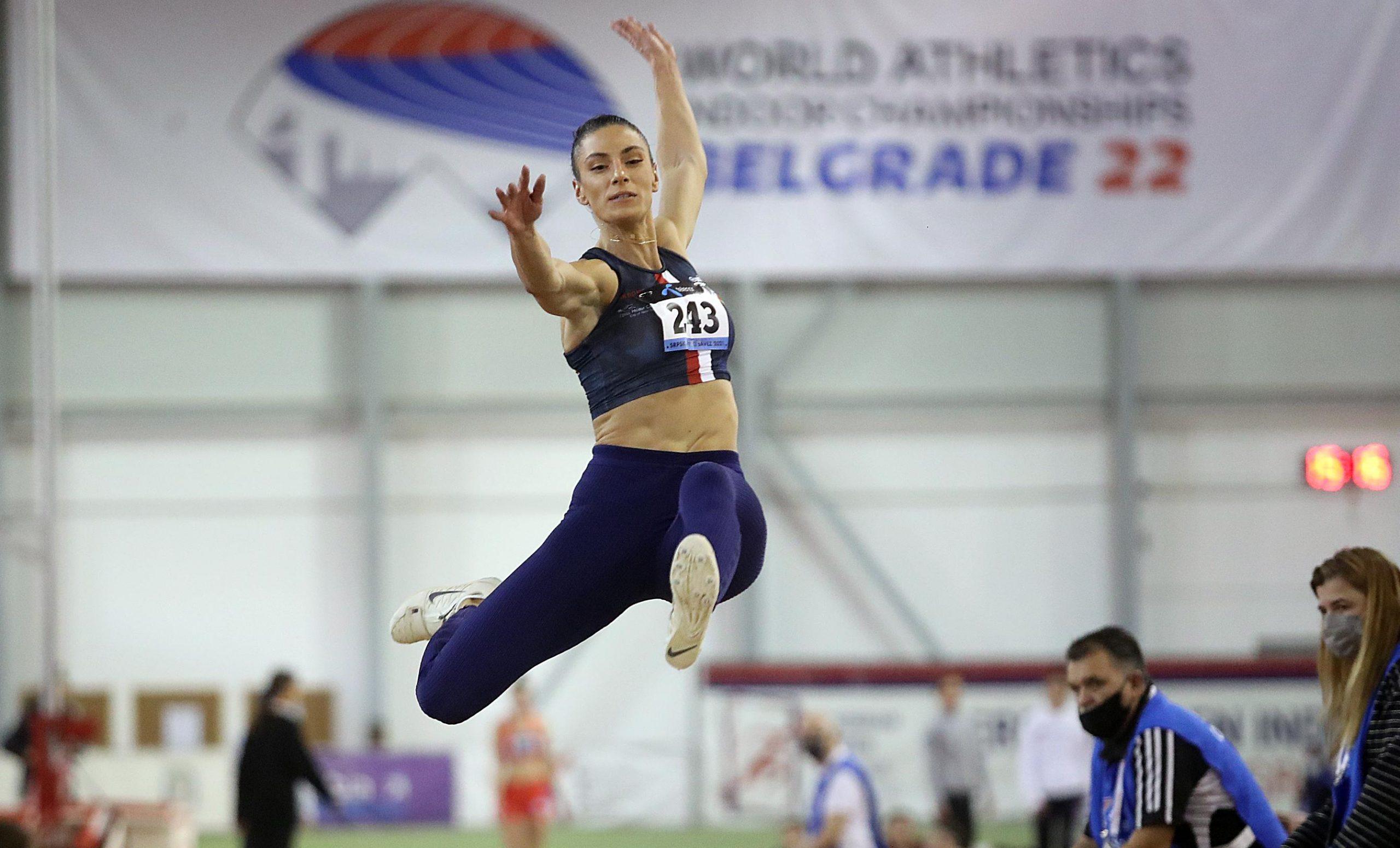 Ivana Španović šampionka Balkana 1