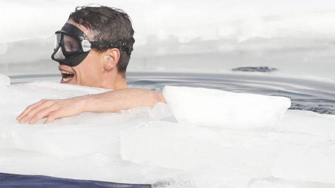 Čeh postavio svetski rekord u ronjenju pod ledom na dah 4