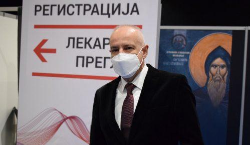 Radojičić: U Beogradu za nedelju dana 25.000 pregleda u kovid ambulantama 4