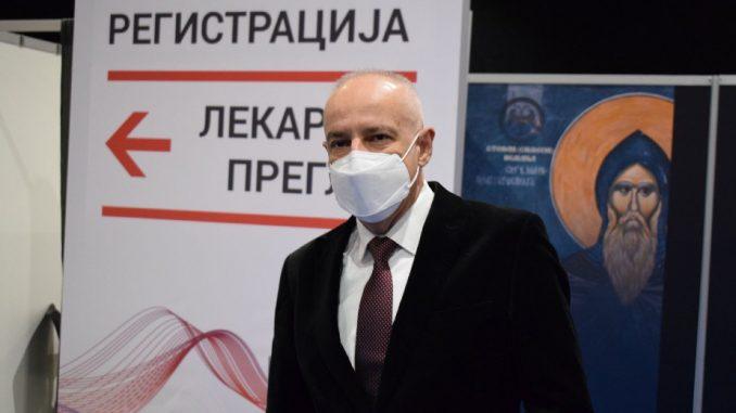Radojičić: U Beogradu za nedelju dana 25.000 pregleda u kovid ambulantama 3