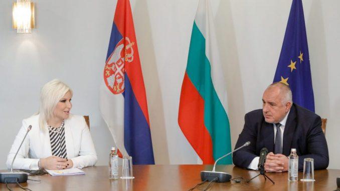 Mihajlović sa Borisovim o izgradnji gasne interkonekcije Srbija-Bugarska 3
