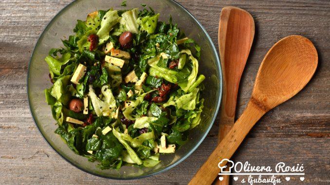 Vege recept: Carska zimska salata 1