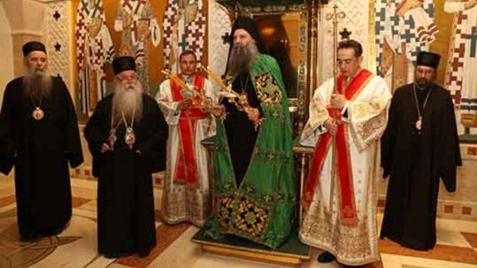 Porfirije izabran za novog patrijarha SPC (VIDEO, FOTO) 1