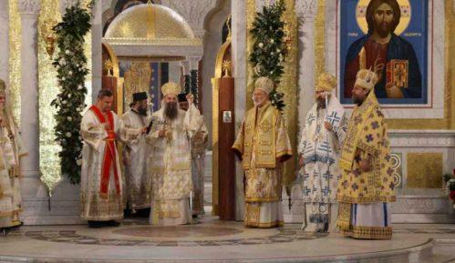 Patrijarh Porfirije u hramu Svetog Save: Imajte u molitvama moje ime 2
