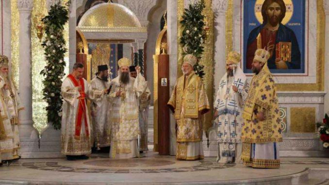 Patrijarh Porfirije u hramu Svetog Save: Imajte u molitvama moje ime 4